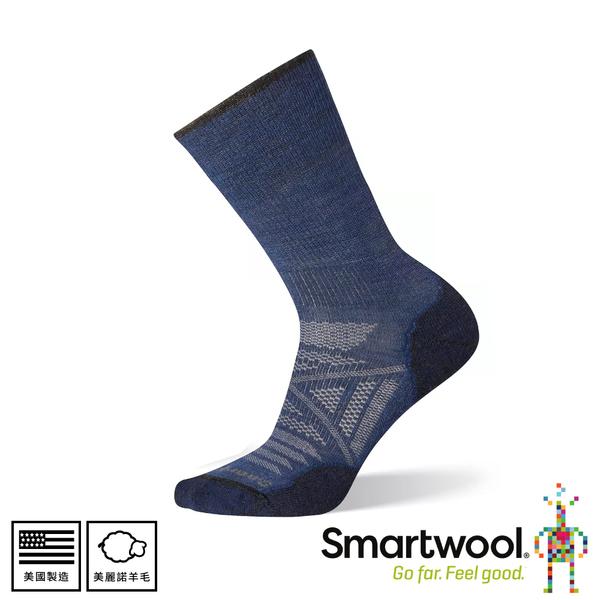 【SmartWool 美國 PHD輕量減震中長襪《靛藍色》】SW001067/排汗襪/保暖襪/中長襪/運動襪