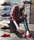 【2wenty6ix】★正韓 Ollie ★ Supreme Classic 永不敗經典素面Q版繫帶 休閒帆布鞋| 懶人鞋