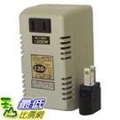 [東京直購] 日章工業 降壓器 (型號DU-120) 110V降至100V 1200W(電子鍋無法使用)_a115