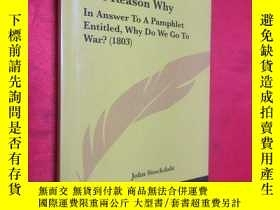 二手書博民逛書店The罕見Reason Why: In Answer to a