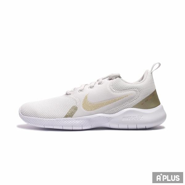 NIKE 女慢跑鞋 WMNS FLEX EXPERIENCE RN 10 白金-CI9964010