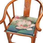 坐墊 新中式坐墊復古紅木沙發椅墊懷舊餐椅墊官帽加厚座墊定做 蒂小屋服飾