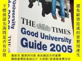 二手書博民逛書店THE罕見TIMES Good University Guide