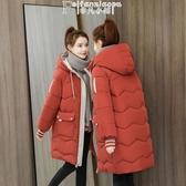 羽絨外套女 中長款加厚棉衣女冬季新款韓版寬鬆羽絨棉服女小大碼保暖外套 【多色選擇】