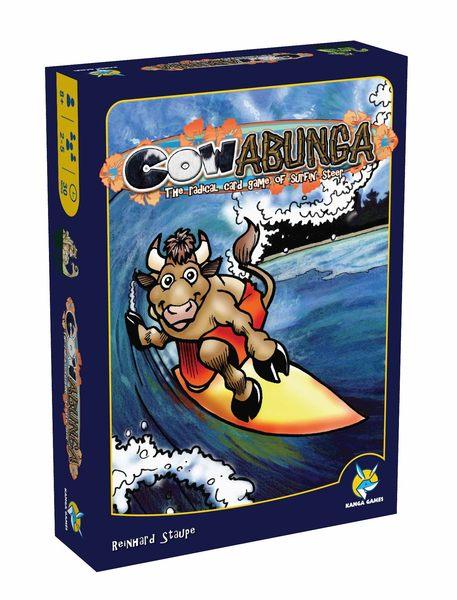 【Kanga 楷樂】狂牛衝浪 / 衝浪俱樂部 Cowabunga 中文版 桌上遊戲