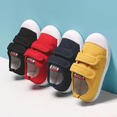 兒童帆布鞋女童鞋2020新款軟底布鞋單鞋男童休閒鞋幼兒園寶寶鞋子