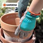 園藝手套 防護防滑耐磨 家用園藝保護手套花園手套