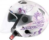 [中壢安信]法國 ASTONE RS II37 粉紅 半罩式 安全帽 內置墨片