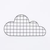 【任3件3折】鐵藝網格雲朵memo板-生活工場