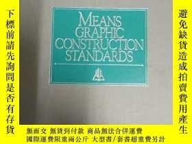 二手書博民逛書店MEANS罕見GRAPHIC CONSTRUCTION STAN