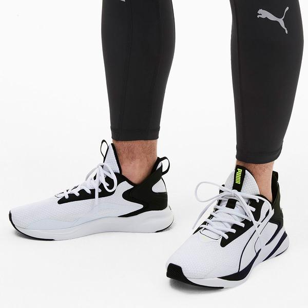 PUMA-SOFTRIDE RIFT TECH 男款白色慢跑運動鞋-NO.19373703