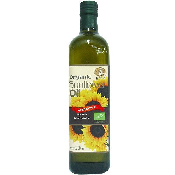 【買一送一】格亞 瑞士進口有機不飽和葵花油 750ml/瓶