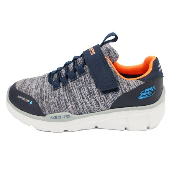 (A3)SKECHERS(童)EQUALIZER 3.0 防潑水 寬楦 運動鞋 魔鬼氈 97925LNVGY灰藍 [陽光樂活]