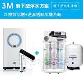 3M HEAT2000觸控式熱飲水機+松下淨水逆滲透純水機
