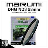 日本Marumi DHG ND8 58mm 多層鍍膜薄框數位減光鏡 彩宣公司貨 另有保護鏡 CPL★可刷卡免運★薪創