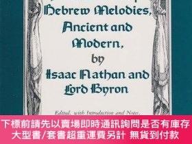 二手書博民逛書店A罕見Selection Of Hebrew Melodies, Ancient And Modern, By I
