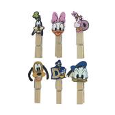 【收藏天地】迪士尼系列*木夾裝飾組唐老鴨/文具卡通可愛