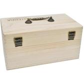 收納盒 大容量精油木盒雙層15ML可放基礎油二層鬆木多功能精油瓶收納盒 解憂