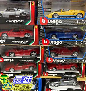 [COSCO代購] C146629 BBURAGO 1:18 DIE CAST CAR BBURAGO 1:18收藏模型車