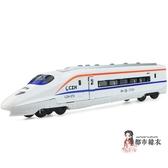 火車模型 動車火車合金車模型玩具男孩汽車聲光回力車【快速出貨】