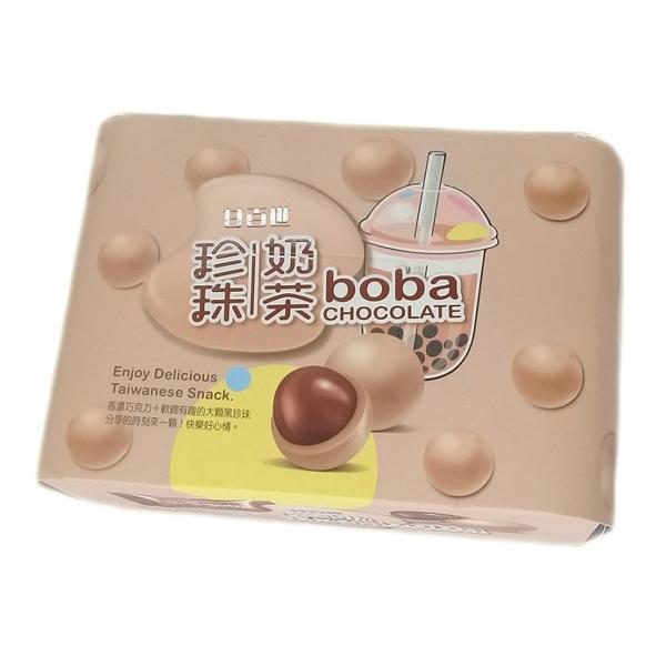 甘百世 珍珠奶茶巧克力(70g)  【小三美日】 團購/零食