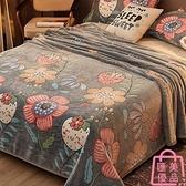毛毯被子珊瑚絨小毯子加厚冬季法蘭絨床單人午睡毯【匯美優品】