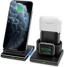 Seneo【美國代購】無線充電器 3合1 無線充電站 適用於 Apple Watch