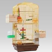 鸚鵡鳥籠子 大碼玄鳳虎皮八哥籠 大號金色屬牡丹鷯哥繁殖箱