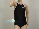 *日光部屋* arena (公司貨)/ A185WJ-BKWH 女童連身泳裝