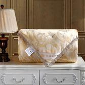 被子 蠶絲被100%桑蠶絲加厚保暖全棉冬季被芯單人雙人6/8斤春秋棉質被T 尾牙