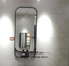 智慧浴鏡防鏡復古鐵藝衛生間鏡子壁掛鏡長方鏡衛浴鏡洗手間鏡子廁所浴室鏡全館免運!~`