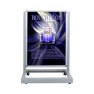 展示行銷系列 LED 可掀式鋁框海報架 動態亮光燈箱 座地型 / 台 LB-110