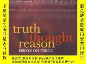 二手書博民逛書店Truth,罕見Thought, ReasonY364682 Tyler Burge Oxford Unive