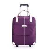 拉桿包 旅行包拉桿包女行李包袋短途旅遊大容量輕便手提收納袋 - 歐美韓熱銷