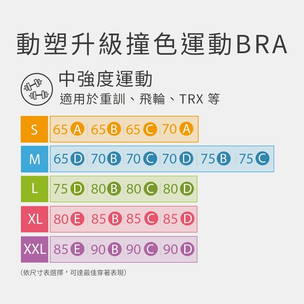 Mollifix 瑪莉菲絲 高調A++動塑升級撞色運動BRA (奶茶粉+褐)