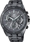 附台灣卡西歐保卡才是公司貨【時間光廊】CASIO 卡西歐 EDIFICE 三眼計時錶 鐵灰色 EFR-552GY-8A