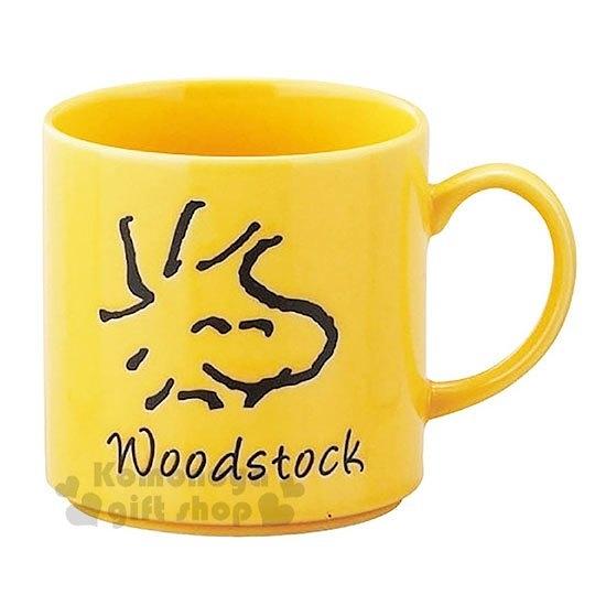 〔小禮堂〕史努比 糊塗塔客 日製陶瓷馬克杯《黃.大臉》咖啡杯.精緻盒裝.YAMAKA陶瓷 4979855-20633