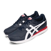 Asics 休閒鞋 Tiger Runner 藍 白 男鞋 復古慢跑鞋 運動鞋 【ACS】 1191A301400