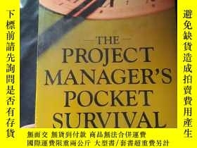二手書博民逛書店the罕見project manager s pocket su