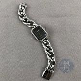 BRAND楓月 CHANEL 香奈兒 H3248 銀 鎖鏈PREMIERE 銀色指針 高端設計 輕巧優雅 手錶 腕錶