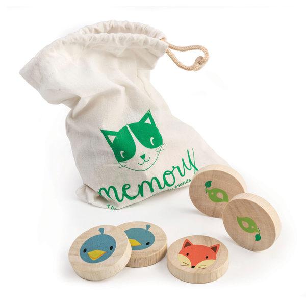【美國Tender Leaf Toys】動物記憶遊戲組(積木益智遊戲)