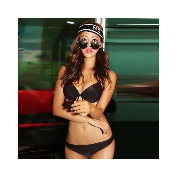 Melek 比基尼 (共2色) 現貨【A01160617-00~01】女泳裝托胸比基尼套 泳裝/比基尼/歐美