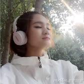 運動重低音炮頭戴式耳機男女生手機單孔電腦通用音樂帶麥有線耳麥 美芭