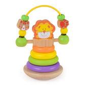 兒童寶寶不倒翁手搖鈴嬰兒玩具3-6-12個月0-1歲男女孩新生兒益智七夕情人節