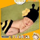 童裝 嬰兒 攝影 寫真 彌月禮 蜜蜂 手工 針織