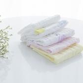 寶寶口水巾嬰兒手帕純棉紗布面巾洗臉巾毛巾新生兒拍嗝方巾5條裝