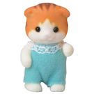 森林家族 人偶 楓糖貓嬰兒