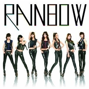 Rainbow A 日文單曲初回限定盤CD附DVD Gossip Girl 隊長Jae Kyung領軍 肚臍舞 (音樂影
