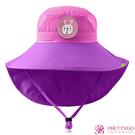 韓國Lemonkid 兒童超防曬漁夫遮陽帽(54cm)-紫小兔【美麗購】