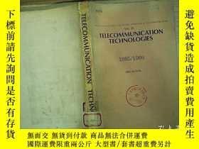 二手書博民逛書店TELECOMMUNICATION罕見TECHNOLOGIES